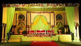 stage decorators for reception chandigarh, mohali