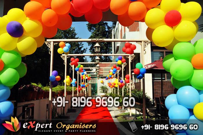 Expert Balloon Decorators Chandigarh Best Birthday Decorators