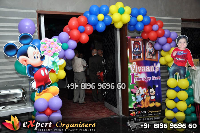 Expert Birthday Planners Chandigarh Balloons Decorators