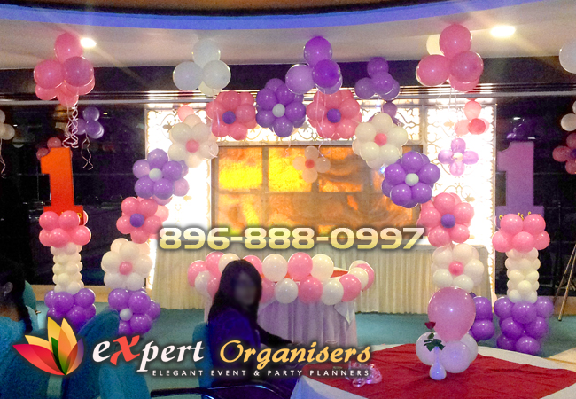 Expert birthday planners chandigarh best birthday for Balloon decoration for kids birthday party