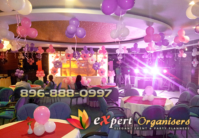 Birthday Wall Decoration With Balloons Expert Planners Chandigarh